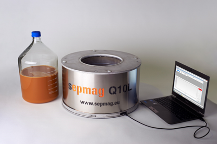Sepmag's QC recording device is great for magnetic bead separation regulatory purposes