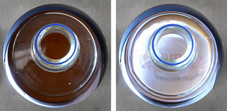 Cylindrical vessels are great for magnetic bead separation