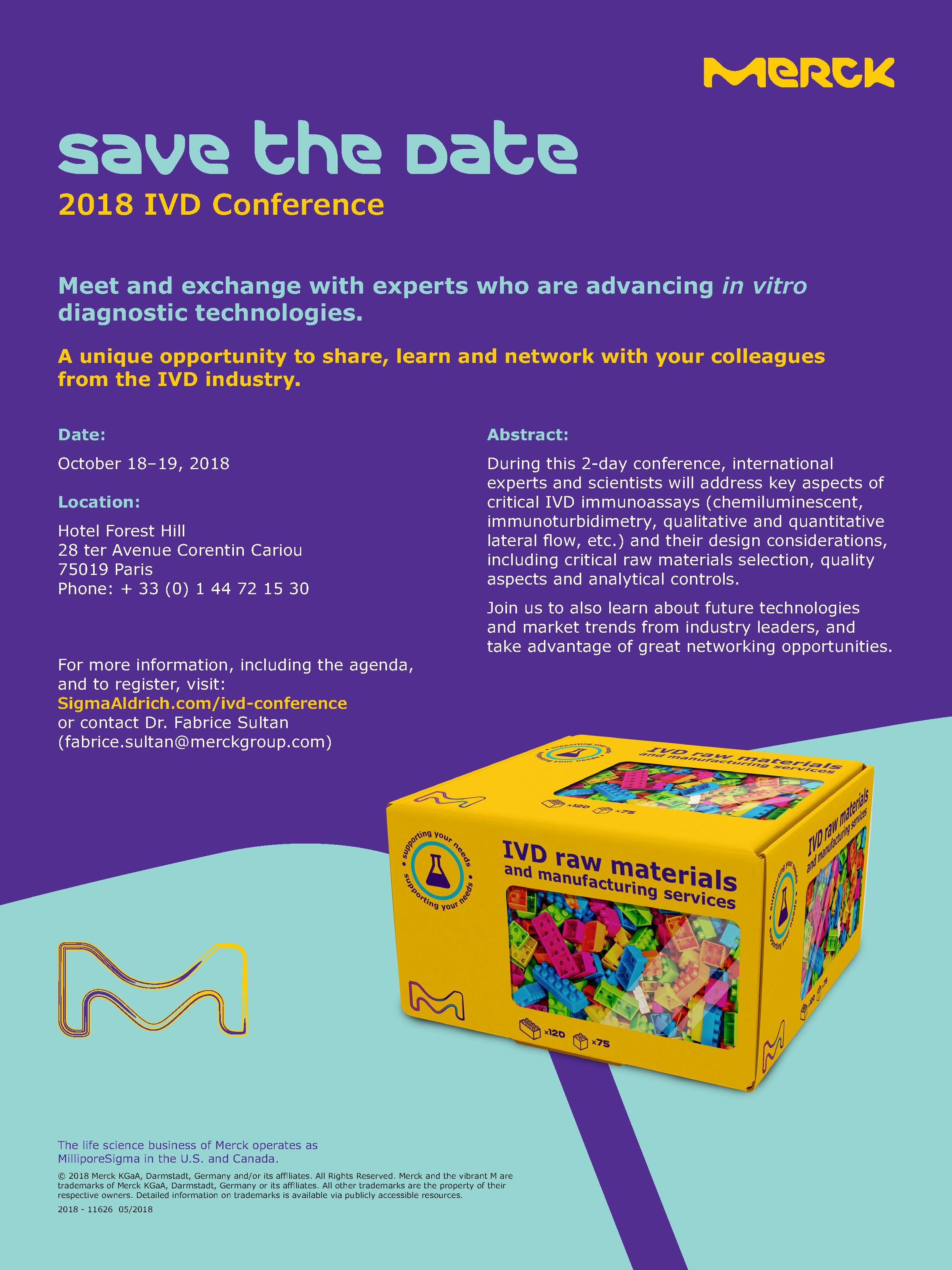 2018 - 11626 - IVD conf_Save the date_MRK